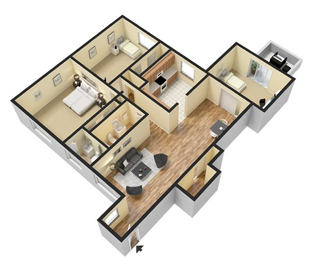 Floor Plans The 600 Apartments For Rent In Bloomfield Ct